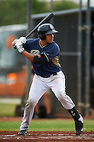 San Diego Padres Nick Torres (13) during an instructional league game against the Milwaukee Brewers on October 6, 2015 at the Peoria Sports Complex in Peoria, Arizona.  (Mike Janes/Four Seam Images)