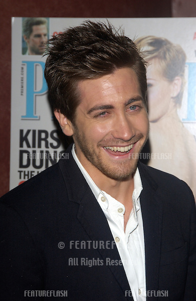 Actor JAKE GYLLENHAAL at party in Hollywood for Premiere magazine's Premiere The New Power issue..June 2, 2004