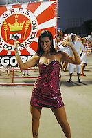 RIO DE JANEIRO-RJ DIA 29 DE JANEIRO DE 2012<br /> Na noite de domingo ensaio t&eacute;cnico da escola de samba unidos do viradouro, situado no samb&oacute;dromo no centro do Rio de janeiro<br /> Musa do brasileir&atilde;o Bianca Le&atilde;o