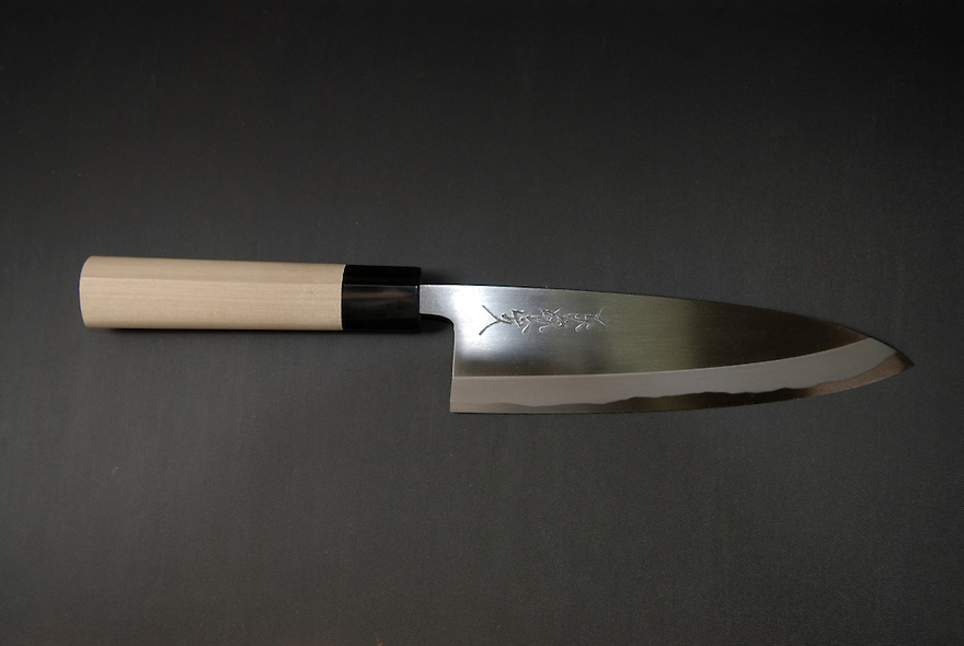 "18cm ""deba"" for filleting fish. \16,000. Hand-made."