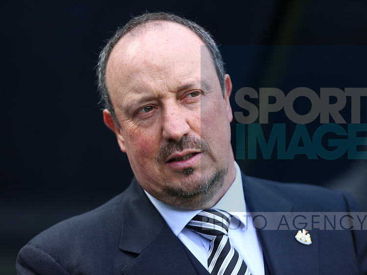Rafa Benitez, manager of Newcastle United during the Barclays Premier League match at St James' Park. Photo credit should read: Philip Oldham/Sportimage