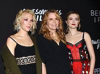 www.acepixs.com<br /> <br /> March 1 2017, LA<br /> <br /> (L-R) Actresses  Madelyn Deutch, Lea Thompson and Zoey Deutch arriving at the premiere of 'Before I Fall' at the Directors Guild Of America on March 1, 2017 in Los Angeles, California.<br /> <br /> By Line: Nancy Rivera/ACE Pictures<br /> <br /> <br /> ACE Pictures Inc<br /> Tel: 6467670430<br /> Email: info@acepixs.com<br /> www.acepixs.com