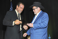 LAS VEGAS, NV - MAY 02: Shawn Michaels and Jim Ross at the 2018 Cauliflower Alley Club Awards Banquet And Dinner at the Gold Coast Hotel & Casino in Las Vegas, Nevada on May 2, 2018. Credit: George Napolitano/MediaPunch