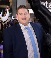 NEW YORK, NY - JUNE 06: Actor Jonah Hill attends the 'How To Train Your Dragon 2' Photo Call in Times Square on June 6, 2014 in New York City. © HP/Starlitepics