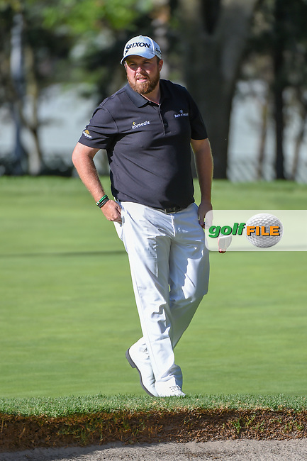 Shane Lowry (IRL) after sinking his putt on 4 during round 1 of the World Golf Championships, Mexico, Club De Golf Chapultepec, Mexico City, Mexico. 2/21/2019.<br /> Picture: Golffile | Ken Murray<br /> <br /> <br /> All photo usage must carry mandatory copyright credit (© Golffile | Ken Murray)