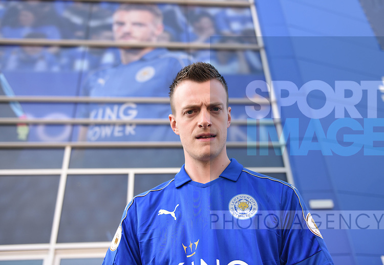 Jamie Vardy lookalike at at the King Power Stadium Leicester. Photo credit should read: Nathan Stirk/Sportimage<br /> <br /> <br /> <br /> <br /> <br /> <br /> <br /> <br /> <br /> <br /> <br /> <br /> <br /> <br /> <br /> <br /> <br /> <br /> <br /> <br /> <br /> <br /> <br /> <br /> <br /> <br /> <br /> <br /> <br /> <br /> <br /> <br /> - Newcastle Utd vs Tottenham - St James' Park Stadium - Newcastle Upon Tyne - England - 19th April 2015 - Picture Phil Oldham/Sportimage