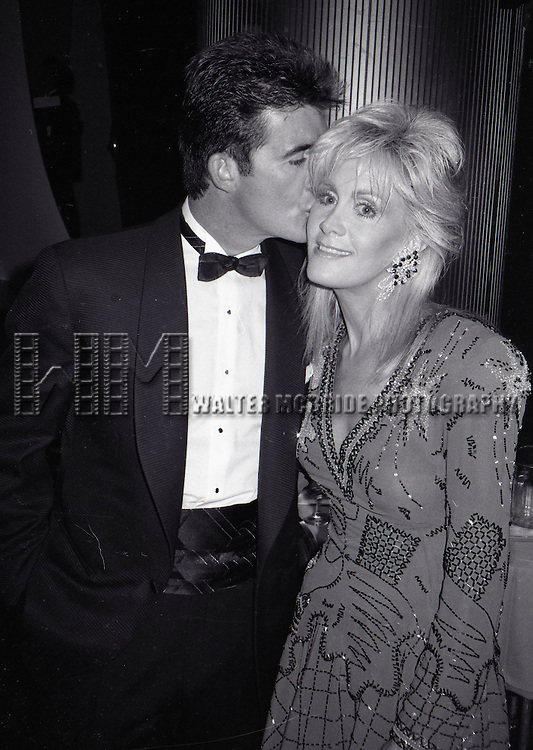 Alan Thicke and Joan Van Ark  on September 1, 1983 in Los Angeles California.
