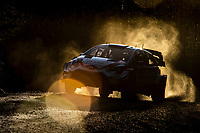 13th February 2020, Torsby base and Karlstad, Värmland County, Sweden; WRC Rally of Sweden, Shakedown event;  Elfyn Evans (GBR) -  Scott Martin (GBR) - Toyota Yaris WRC