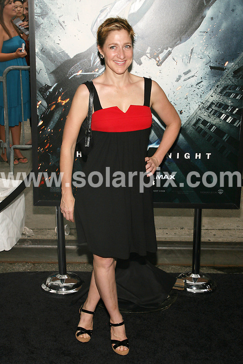 **ALL ROUND PICTURES FROM SOLARPIX.COM**.**SYNDICATION RIGHTS FOR UK, SPAIN, PORTUGAL, AUSTRALIA, S.AFRICA & DUBAI (U.A.E) ONLY**.The Dark Knight World Premiere  Arrivals  at AMC Loews Lincoln Square in 68th Street and Broadway in New York in the USA. The IMAX Experience, .This pic:Edie Falco..JOB REF:6830-PHZ/Sylvain Gaboury    DATE:14_07_08 .**MUST CREDIT SOLARPIX.COM OR DOUBLE FEE WILL BE CHARGED* *UNDER NO CIRCUMSTANCES IS THIS IMAGE TO BE REPRODUCED FOR ANY ONLINE EDITION WITHOUT PRIOR PERMISSION*