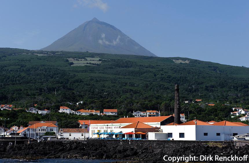 Sao Roque/Cais de Pico auf der Insel Pico, Azoren, Portugal