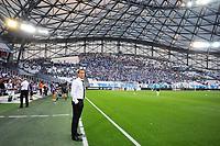 RUDI GARCIA (ENTRAINEUR MARSEILLE) - TRIBUNES - SUPPORTERS <br /> Olympique Marseille - Dijon 06-08-2017 <br /> Calcio Ligue 1 2017/2018 <br /> Foto Panoramic/insidefoto