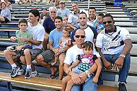 2 October 2011:  Members of the FIU Men's Soccer team that played in the national championship match in 1996 attend the game.  The FIU Golden Panthers defeated the University of Kentucky Wildcats, 1-0 in overtime, at University Park Stadium in Miami, Florida.