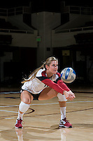 STANFORD, CA - AUGUST 13, 2013 - Grace Kennedy of the Stanford Women's Volleyball team.