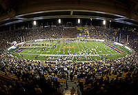 October 6th, 2012: California Football team runs out of the tunnel before start of football game against UCLA at Memorial Stadium, Berkeley, Ca    California defeated UCLA 43 - 17
