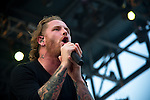 Corey Taylor of Stone Sour performs during the 2013 Rock On The Range festival at Columbus Crew Stadium in Columbus, Ohio.