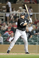 Dallas McPherson of the Chicago White Sox plays in a spring training game against the Arizona Diamondbacks at Salt River Fields on March 10, 2011 in Scottsdale, Arizona. .Photo by:  Bill Mitchell/Four Seam Images.
