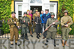 Mayday, Mayday : Pictured at the launch of the Listowel Vintage - Agri - Military Expo event to be held in Listowel on Sunday May 6th were members of the World War Club of Ireland dressed in authentic  German American, French & Russian uniforms from Wotld War 2 with members of the organizing committee Ger Greaney, Patrice O'Callaghan Gleasure, Padraigh Nolan & Damian Stack in Listowel on Saturday last.