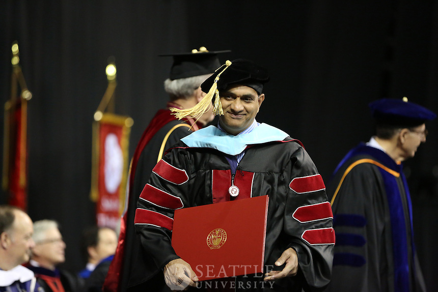 SEATTLE UNIVERSITY - 2016 COMMENCEMENT - GRADUATES - KEYARENA - SEATTLE, WASH. - SUNDAY, JUNE 12, 2016