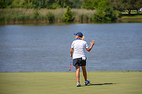 Cristie Kerr (USA) after sinking her birdie putt on 7 during round 2 of the 2018 KPMG Women's PGA Championship, Kemper Lakes Golf Club, at Kildeer, Illinois, USA. 6/29/2018.<br /> Picture: Golffile | Ken Murray<br /> <br /> All photo usage must carry mandatory copyright credit (© Golffile | Ken Murray)