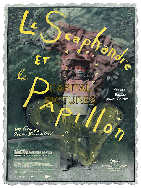 FRENCH POSTER ART.in The Diving Bell And The Butterfly (Le Scaphandre et le papillon) .**Editorial Use Only**.CAP/FB.Supplied by Capital Pictures