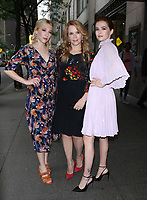 NEW YORK, NY June  13, 2018:Lea Thompson, Madelyn Deutch,  Zoey Deutch at New York Live  to talk about  new movie The Year of Spectacular Men in New York. June 13, 2018 Credit:/RW/MediaPunch