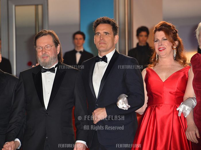 Matt Dillon, Siobhan Fallon Hogan &amp; Lars Von Trier at the gala screening for &quot;The House That Jack Built&quot; at the 71st Festival de Cannes, Cannes, France 14 May 2018<br /> Picture: Paul Smith/Featureflash/SilverHub 0208 004 5359 sales@silverhubmedia.com