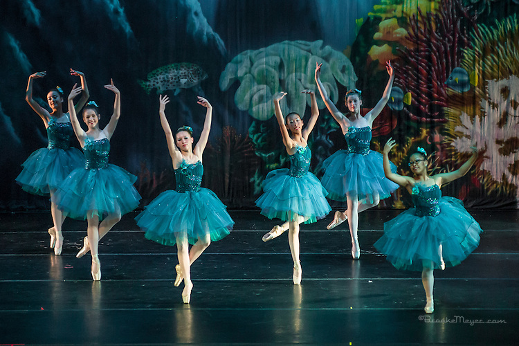 "Friday Evening Performance of ""A Mermaid's Dream"", the 2015 Annual Recital by the Cary Ballet Conservatory."