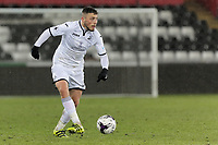 Pictured: Tom Price of Swansea. Tuesday 01 May 2018<br /> Re: Swansea U19 v Cardiff U19 FAW Youth Cup Final at the Liberty Stadium, Swansea, Wales, UK