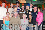 50TH: Celebrations were in full swing at Turners Bar, Tralee, on Monday night as David Finn of Shanakill celebrated his 50th birthday with family and friends. Front l-r: Lisa Finn, David Finn (birthday boy), Teresa McCarthy and Jade McCarthy. Back l-r: Philip Griffin, Natasha Donovan, Nuala Finn, David O'Brien, Connie Leen, Selena Finn, Damien McCarthy, Brendan Finn and Cassie Leen.