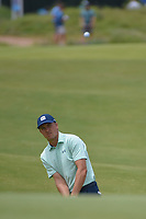 Jordan Spieth (USA) chips up on to 1 during round 1 of the AT&amp;T Byron Nelson, Trinity Forest Golf Club, Dallas, Texas, USA. 5/9/2019.<br /> Picture: Golffile | Ken Murray<br /> <br /> <br /> All photo usage must carry mandatory copyright credit (&copy; Golffile | Ken Murray)
