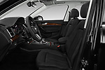 Front seat view of 2018 Audi Q5 Prestige 5 Door SUV front seat car photos