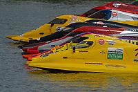 Ashton Rinker (#20), Tracy Hawkins (#2), Rusty Wyatt, (#94)  (F1/Formula 1)