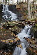 Rollo Fall along the Moose River in Randolph, New Hampshire USA during the spring months.