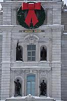 Amérique/Amérique du Nord/Canada/Québec/ Québec: Détail de la façade de l'Hôtel du Parlement (Assemblée Nationale du Québec)