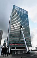Nederland Rotterdam  2017. KPN kantoor bij de Maas. Foto Hollandse Hoogte / Berlinda van Dam