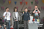 """SOS and The Bottles Of"" from St Marys Congress Avenue at the 2010 Beat on the Boyne...Photo NEWSFILE/Jenny Matthews.(Photo credit should read Jenny Matthews/NEWSFILE)....This Picture has been sent you under the condtions enclosed by:.Newsfile Ltd..The Studio,.Millmount Abbey,.Drogheda,.Co Meath..Ireland..Tel: +353(0)41-9871240.Fax: +353(0)41-9871260.GSM: +353(0)86-2500958.email: pictures@newsfile.ie.www.newsfile.ie.FTP: 193.120.102.198."