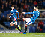 Joe Garner a bawhair away from scoring