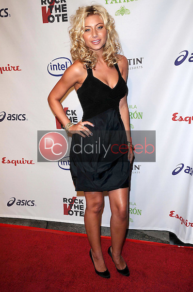 Alyson Michalka<br />at 'Rock The Vote'. Esquire House, Hollywood, CA. 09-25-08<br />Dave Edwards/DailyCeleb.com 818-249-4998