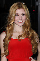 "LOS ANGELES, CA - FEBRUARY 04: Katherine McNamara at the Los Angeles Premiere Of The Weinstein Company's ""Vampire Academy"" held at Regal Cinemas L.A. Live on February 4, 2014 in Los Angeles, California. (Photo by Xavier Collin/Celebrity Monitor)"