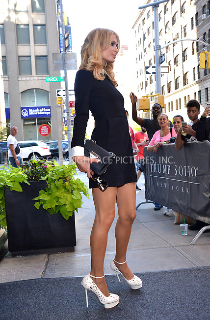 WWW.ACEPIXS.COM<br /> <br /> September 15 2015, New York City<br /> <br /> Paris Hilton out in Soho on September 15 2015 in New York City<br /> <br /> By Line: Curtis Means/ACE Pictures<br /> <br /> <br /> ACE Pictures, Inc.<br /> tel: 646 769 0430<br /> Email: info@acepixs.com<br /> www.acepixs.com