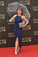 Caroline O'Connor<br /> The Olivier Awards 2018 , arrivals at The Royal Albert Hall, London, UK -on April 08, 2018.<br /> CAP/PL<br /> &copy;Phil Loftus/Capital Pictures