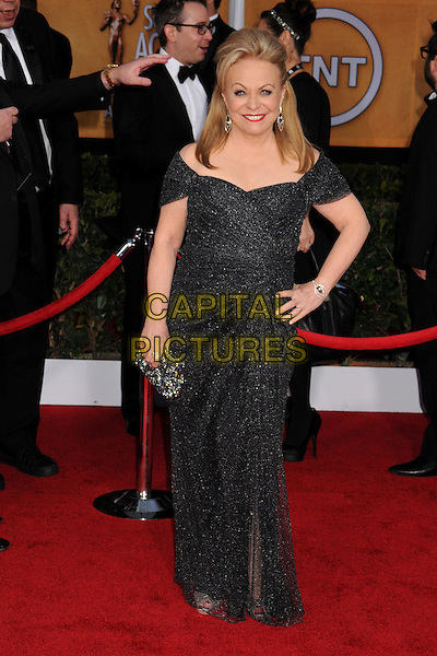 Jacki Weaver.Arrivals at the 19th Annual Screen Actors Guild Awards at the Shrine Auditorium in Los Angeles, California, USA..27th January 2013.SAG SAGs full length black sparkly dress hand on hip.CAP/ADM/BP.©Byron Purvis/AdMedia/Capital Pictures
