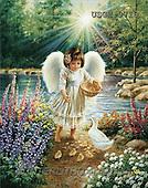 Dona Gelsinger, CHILDREN, paintings(USGE9710,#K#) Kinder, niños, illustrations, pinturas angels, ,everyday