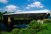Cornish-Windsor Covered Bridge. Crosses the  Connecticut River. Connecting the towns of Cornish, New Hampshire and Windsor, Vermont USA.