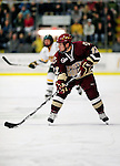 18 October 2009: Boston College Eagle forward Cam Atkinson, a Sophomore from Greenwich, CT, in action during the first period against the University of Vermont Catamounts at Gutterson Fieldhouse in Burlington, Vermont. The Catamounts defeated the visiting Eagles 4-1. Mandatory Credit: Ed Wolfstein Photo