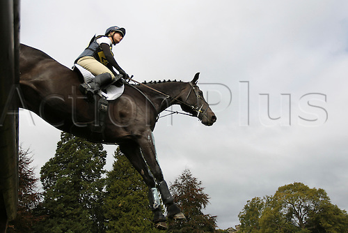 25.09.2010 Equestrian Aske Horse trials, North Yorkshire, UK. . Emily Galbraith riding Timing.
