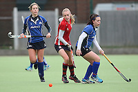 Havering HC Ladies vs Folkestone HC Ladies 12-01-13