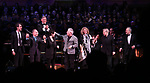 Kevin Stites with Jason Robert Brown, Stephen Flaherty, Lynn Ahrens, Alan Menken, Lucy Simon, Maury Yeston and Allan Corduner during the Broadway Classics in Concert at Carnegie Hall on February 20, 2018 at Carnegie Hall in New York City.