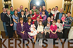 Jacqueline & Patrick Nolan from Tournafulla, Co Limerick, seated 2nd & 3rd from left having a wonderful time with family and friends at the christening celebrations for their daughter Laura held in The Ballygarry House Hotel on Sunday afternoon...................................................................................................................................... ............