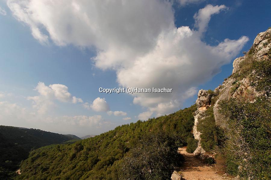 Israel, Mount Carmel National Park